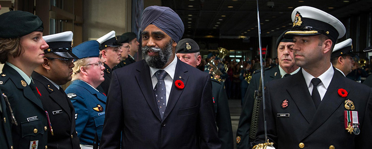 """""""It is critically important that... the [CAF] have the infrastructure they need... in the Arctic"""" - Harjit S. Sajjan"""