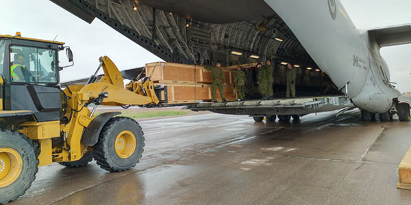 ILS provides safe and efficient loading and unloading services.