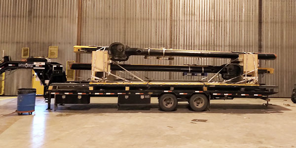 ILS specializes in building outsized freight loads. Loads are manifested with appropriate documentation.