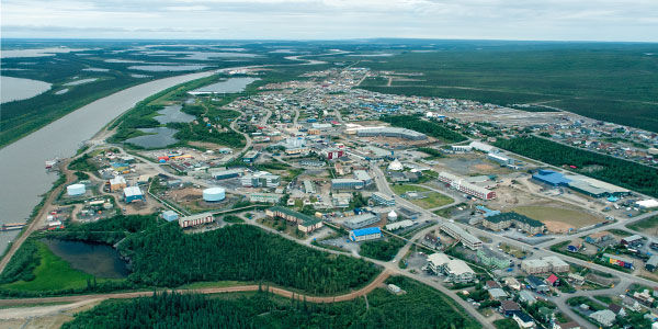 Inuvik maintains an impressive modern infrastructure with facilities to support a wide range of civilian, military and governmental operations.