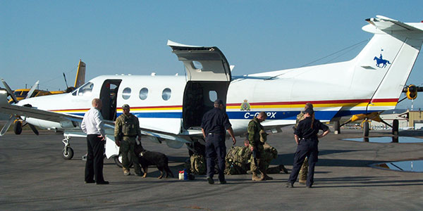 The RCMP is responsible for policing Canada's Arctic.