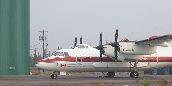 Transport Canada fulfills many roles in Canada's Arctic including ice and pollution surveillance.