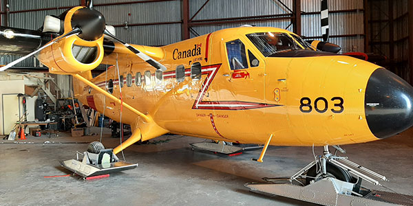 ILS supports Canada's search and rescue efforts in the Arctic.